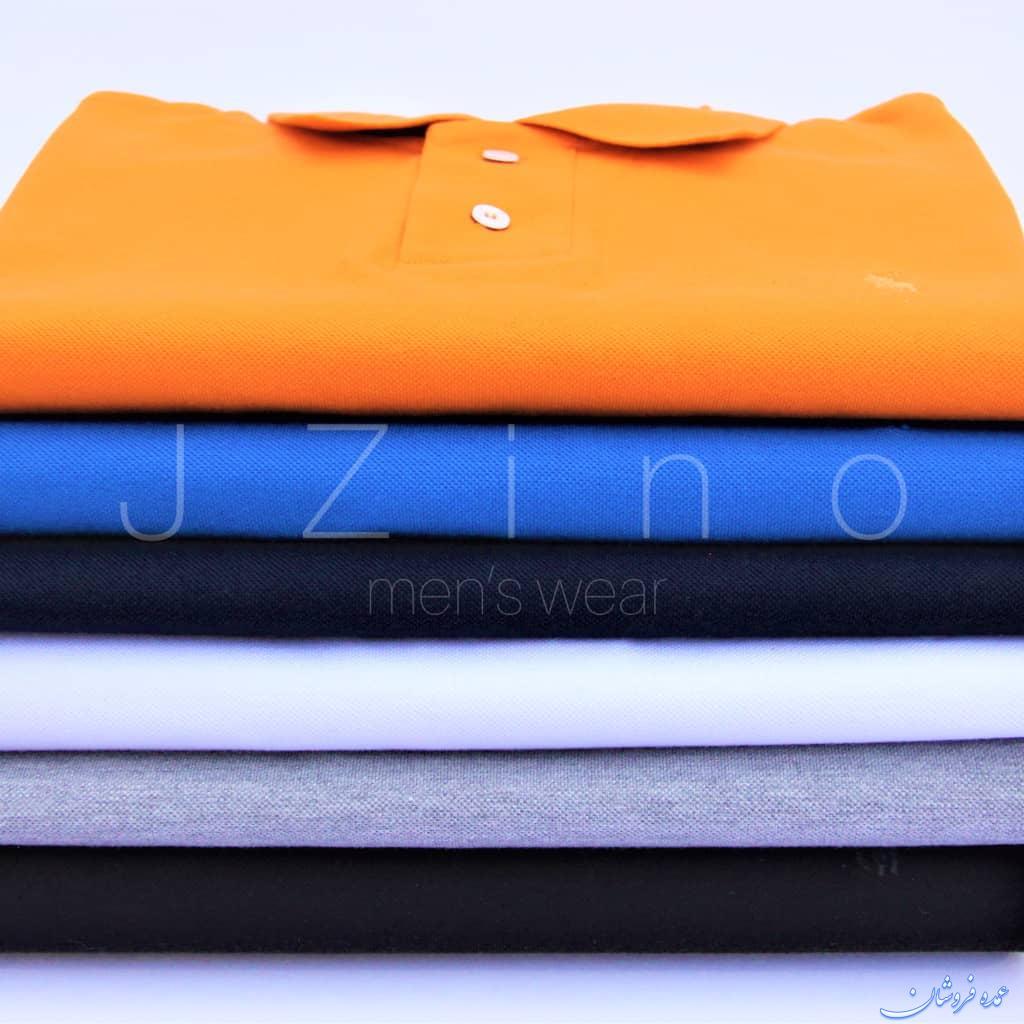 پولوشرت با کیفیت مردانه تولیدی جی زینوJZino